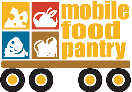 Mobile Food Pantry Logo with Delivery Truck