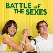 Promotional Poster for Battle of the Sexes