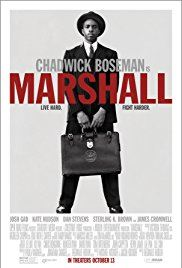 Promotional poster of the movie Marshall